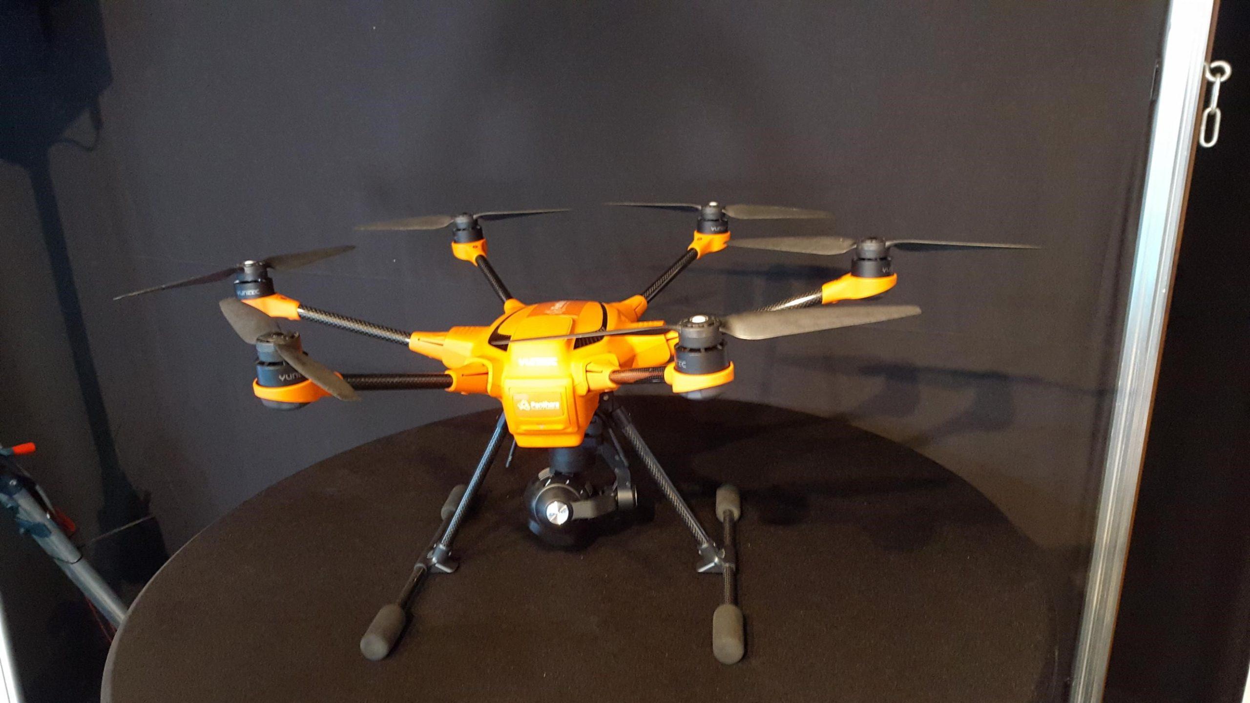 Sécurité par drone